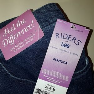 Riders by Lee Shorts - Bermuda Riders Jean Shorts by Lee NWT